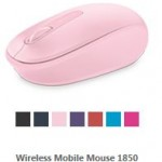 Microsoft Mouse in Farbe